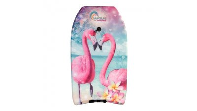 Wave Breakers Bodyboard met Flamingo Print 83 cm
