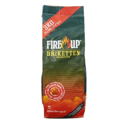 Fire-Up Houtskoolbriketten 3 kg