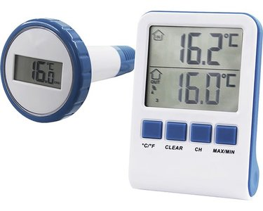 Summer fun thermometer digitaal