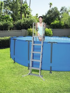 Pool ladder 132 cm